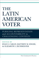 Book cover for 'The Latin American Voter'