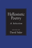 Book cover for 'Hellenistic Poetry'