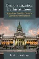 Cover image for 'Democratization by Institutions'