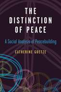 Cover image for 'The Distinction of Peace'