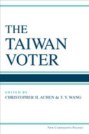 Book cover for 'The Taiwan Voter'