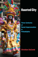 Book cover for 'Haunted City'