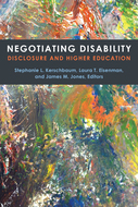 Book cover for 'Negotiating Disability'