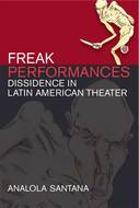 Book cover for 'Freak Performances'