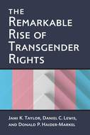 Book cover for 'The Remarkable Rise of Transgender Rights'