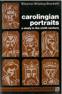 Book cover for 'Carolingian Portraits'