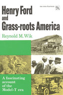 Book cover for 'Henry Ford and Grass-roots America'