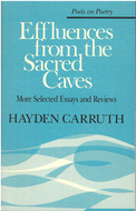 Book cover for 'Effluences from the Sacred Caves'