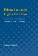 Cover image for 'Private Sectors in Higher Education'