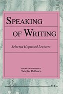 Cover image for 'Speaking of Writing'