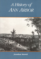 Book cover for 'A History of Ann Arbor'