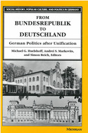 Book cover for 'From Bundesrepublik to Deutschland'