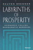 Book cover for 'Labyrinths of Prosperity'