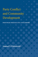 Book cover for 'Party Conflict and Community Development'