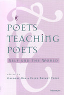 Cover image for 'Poets Teaching Poets'