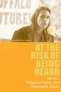 Book cover for 'At the Risk of Being Heard'