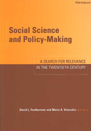 Cover image for 'Social Science and Policy-Making'