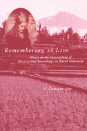 Book cover for 'Remembering to Live'