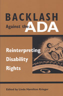 Book cover for 'Backlash Against the ADA'