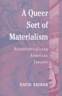 Cover image for 'A Queer Sort of Materialism'