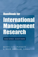 Cover image for 'Handbook for International Management Research'