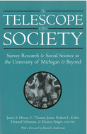 Book cover for 'A Telescope on Society'