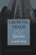 Book cover for 'Growth, Trade, and Systemic Leadership'