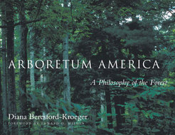 Book cover for 'Arboretum America'