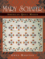 Book cover for 'Mary Schafer, American Quilt Maker'