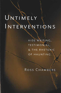 Book cover for 'Untimely Interventions'