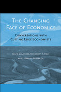 Book cover for 'The Changing Face of Economics'