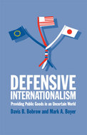 Book cover for 'Defensive Internationalism'