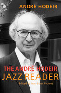 Book cover for 'The André Hodeir Jazz Reader'