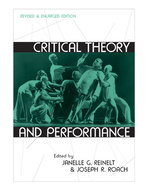 Cover image for 'Critical Theory and Performance'