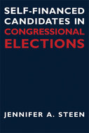 Book cover for 'Self-Financed Candidates in Congressional Elections'