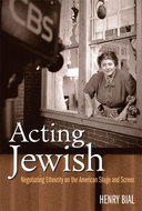 Book cover for 'Acting Jewish'