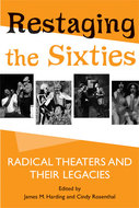 Book cover for 'Restaging the Sixties'