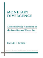 Book cover for 'Monetary Divergence'