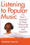 Book cover for 'Listening to Popular Music'