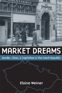 Book cover for 'Market Dreams'