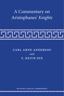 Cover image for 'A Commentary on Aristophanes' Knights'