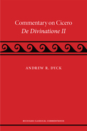 Product cover for 'A Commentary on Cicero, De Divinatione II'