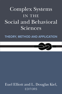 Book cover for 'Complex Systems in the Social and Behavioral Sciences'
