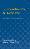 Cover image for 'La Normalizacion del Deficiente'