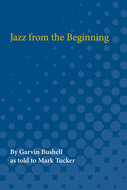 Book cover for 'Jazz from the Beginning'