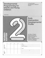 Book cover for 'Developmental Programming for Infants and Young Children'