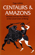 Book cover for 'Centaurs and Amazons'
