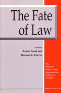 Book cover for 'The Fate of Law'