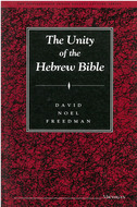 Book cover for 'The Unity of the Hebrew Bible'