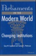 Cover image for 'Parliaments in the Modern World'